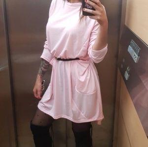 Women's pocketed long dress